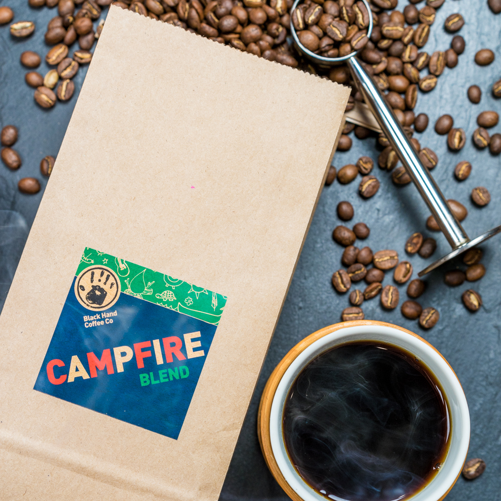 Campfire Coffee Blend | Black Hand Coffee Co.