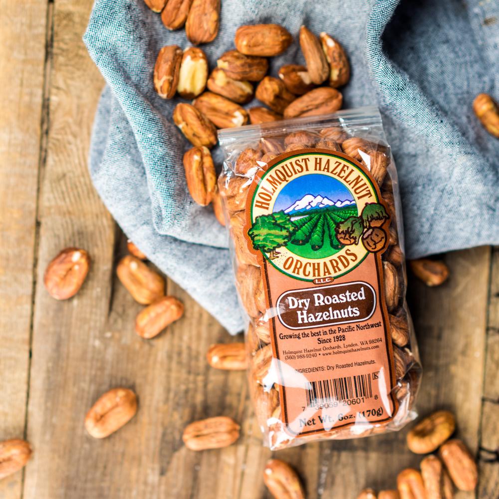 Holmquist Hazlenut | Dry Roasted Hazelnuts