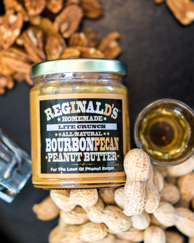 Reginals Homemade | Bourbon Pecan Peanut Butter