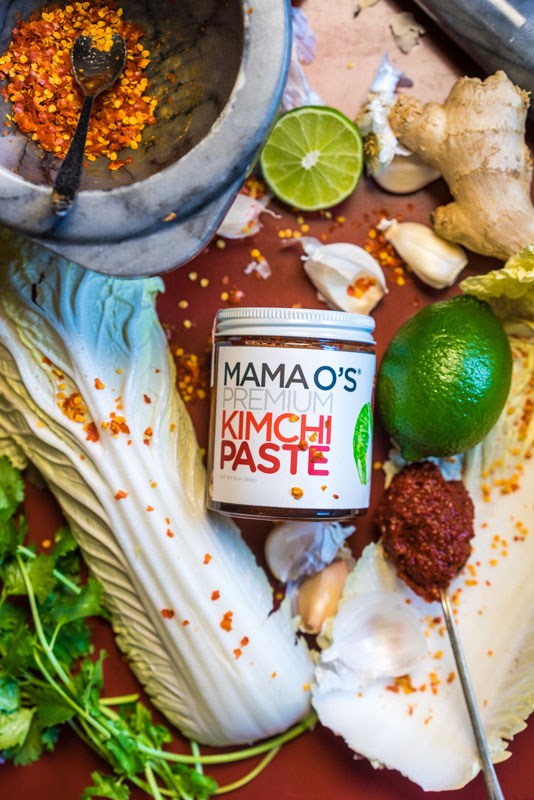 Mama O's Kimchi Paste