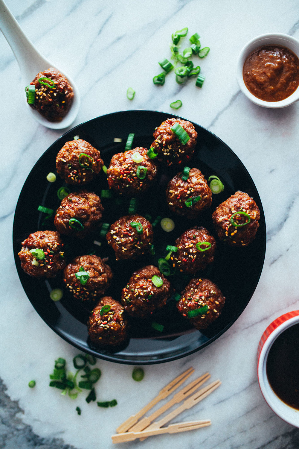Earthy Spicy Tingly Meatballs