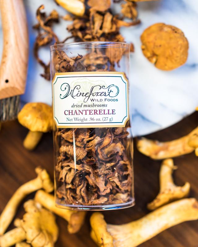 Wine Forest Wild Foods Dried Chanterelles