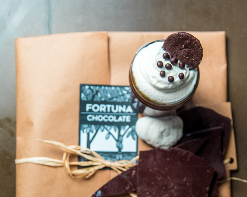 Dark Chocolate | Pot de Creme | Whipped Cream