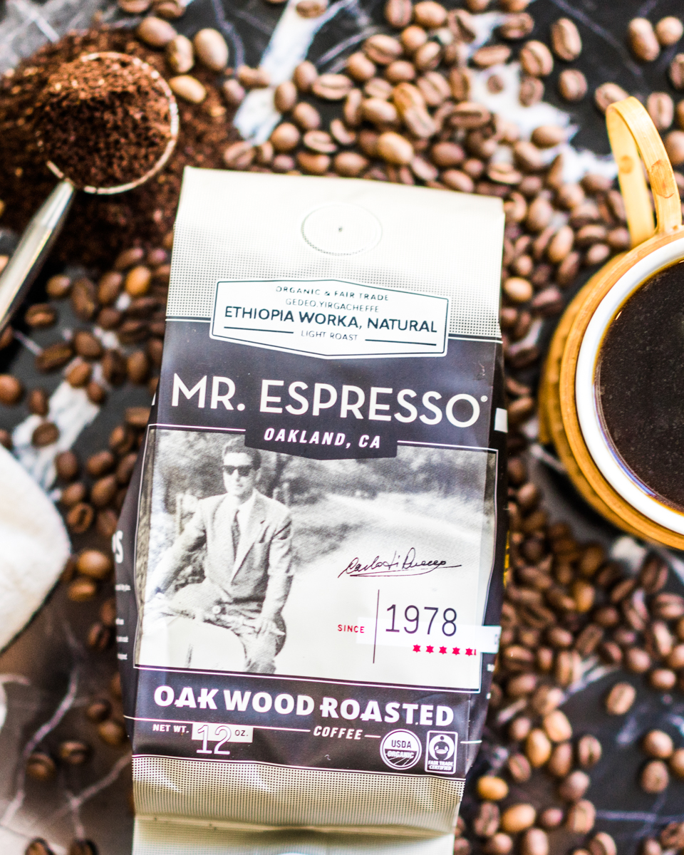 Mr. Espresso Oakwood Roasted Coffee