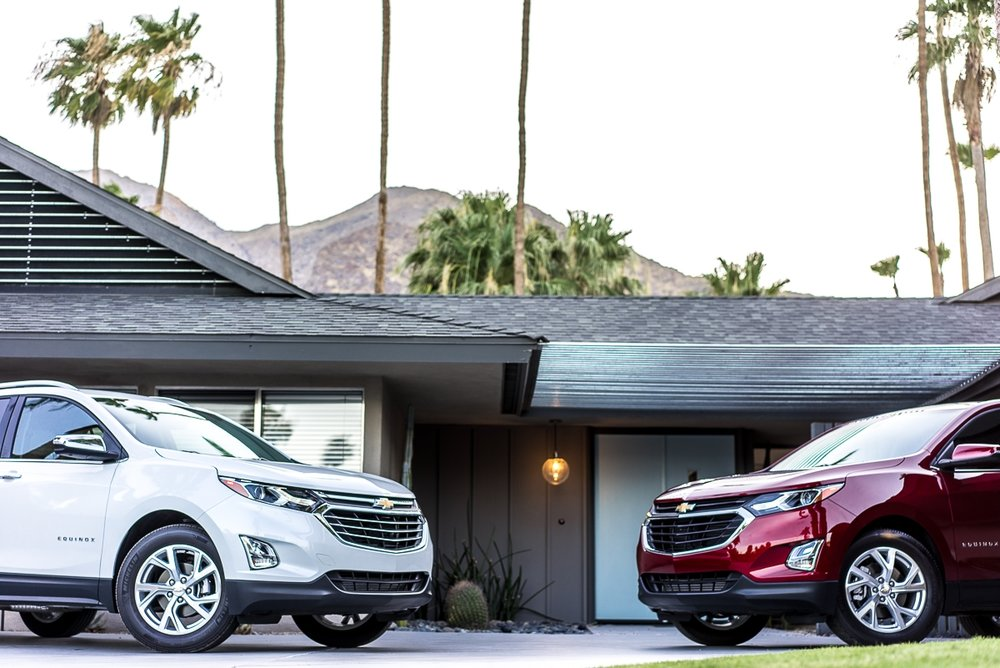 Chevy Equinox's Greet Guests Upon Arrival