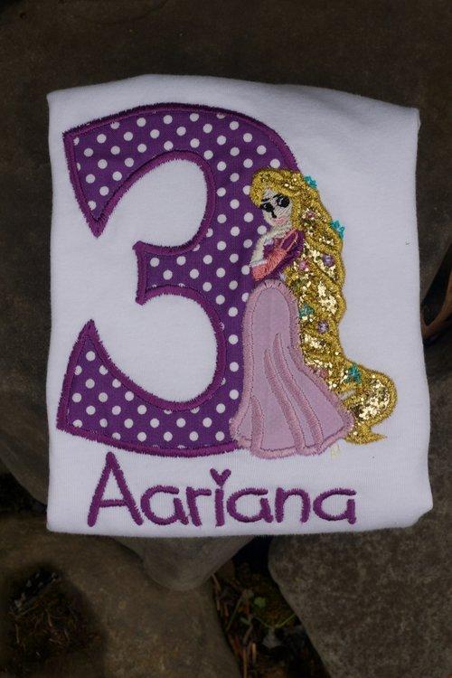 Rapunzel Birthday Little Sweet Pea Closet