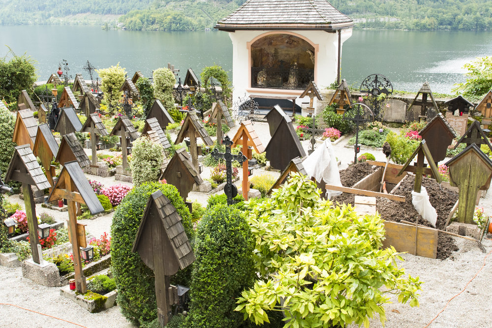 Gravedigger at work-Hallstatt