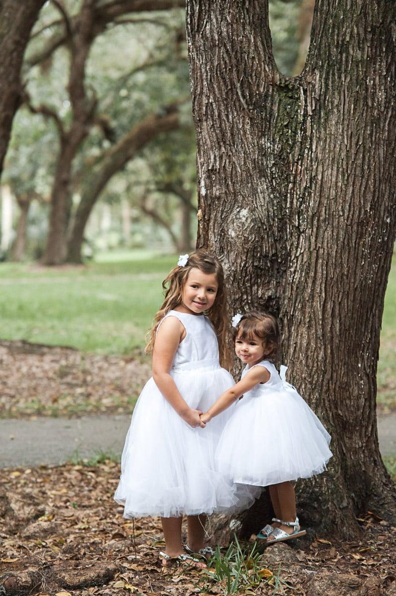 Had two super cute kids.
