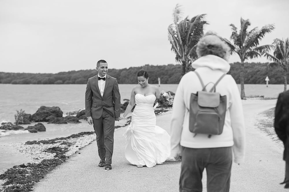 matheson hammock park-candid wedding photography