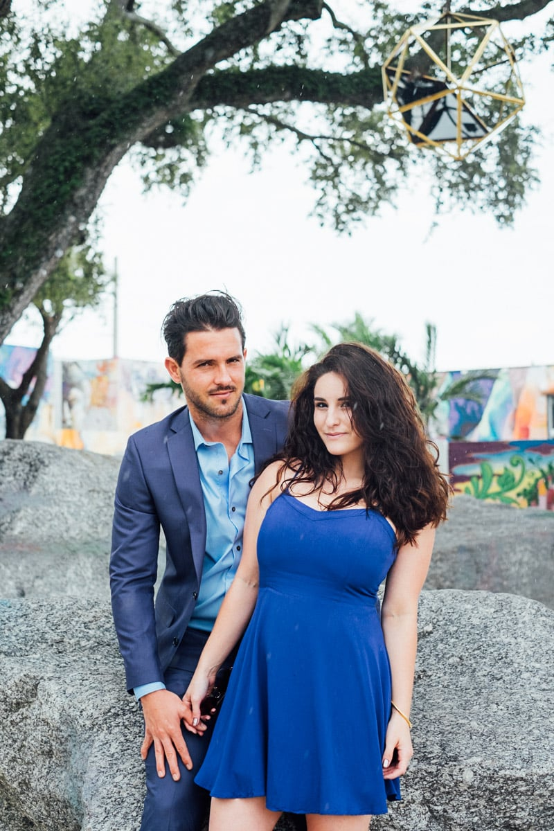 miami-couple-photography-blue dress-handsome man