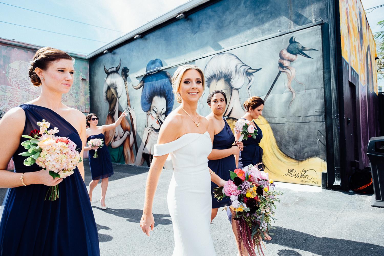jessenia gonzalez photography wynwood miami wedding bridesmaids groomsmen 5 of