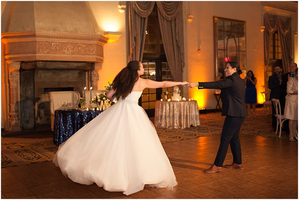 same sex first dance a the biltmore hotel