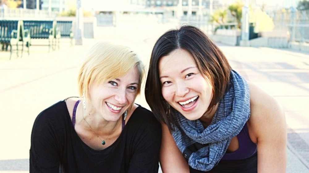 Gigi Mao and Stacie Hawkins