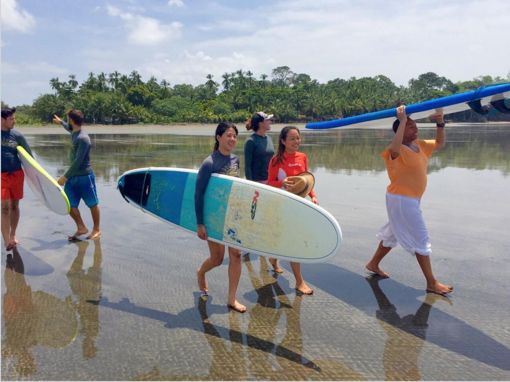 SANTA CATALINA RETREATS YOG SURF DIVE PANAMA