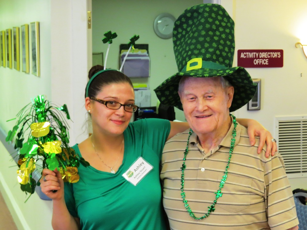 St Pattys 2014  Ashley Stuart and John Keely.jpg