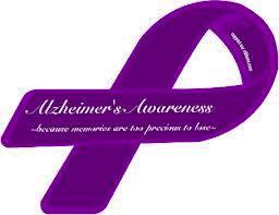 Dementia Awareness Ribbon Color