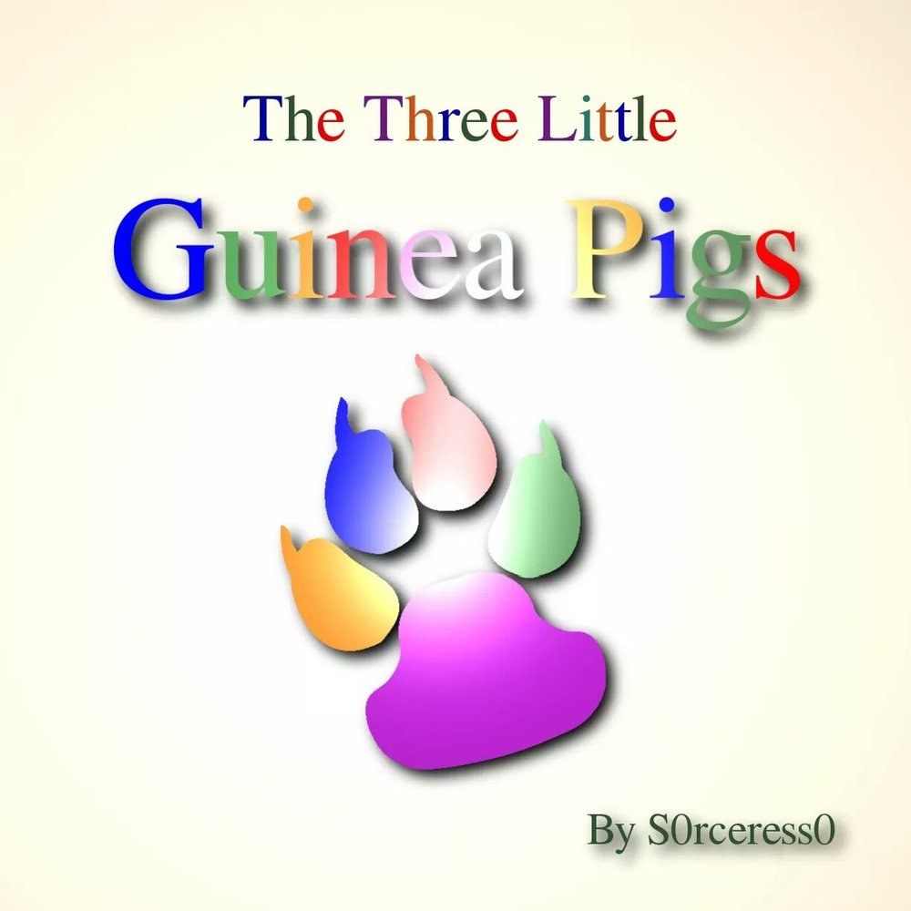 The Three Little Guinea Pigs    Early reader book featuring three little guinea pigs who are missing something and aren't afraid to go on an adventure to find it.  Focused on perspective, adjectives, empathy, and animal care    http://www.blurb.com/b/5656031-the-three-little-guinea-pigs?ebook=501861