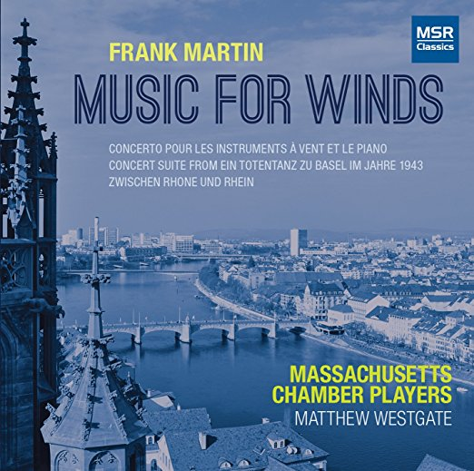 Concerto pour les instruments à vent et le piano, II. Mouvement de Blues - Frank Martin - Massachusetts Chamber Players; Matthew Westgate, conductor