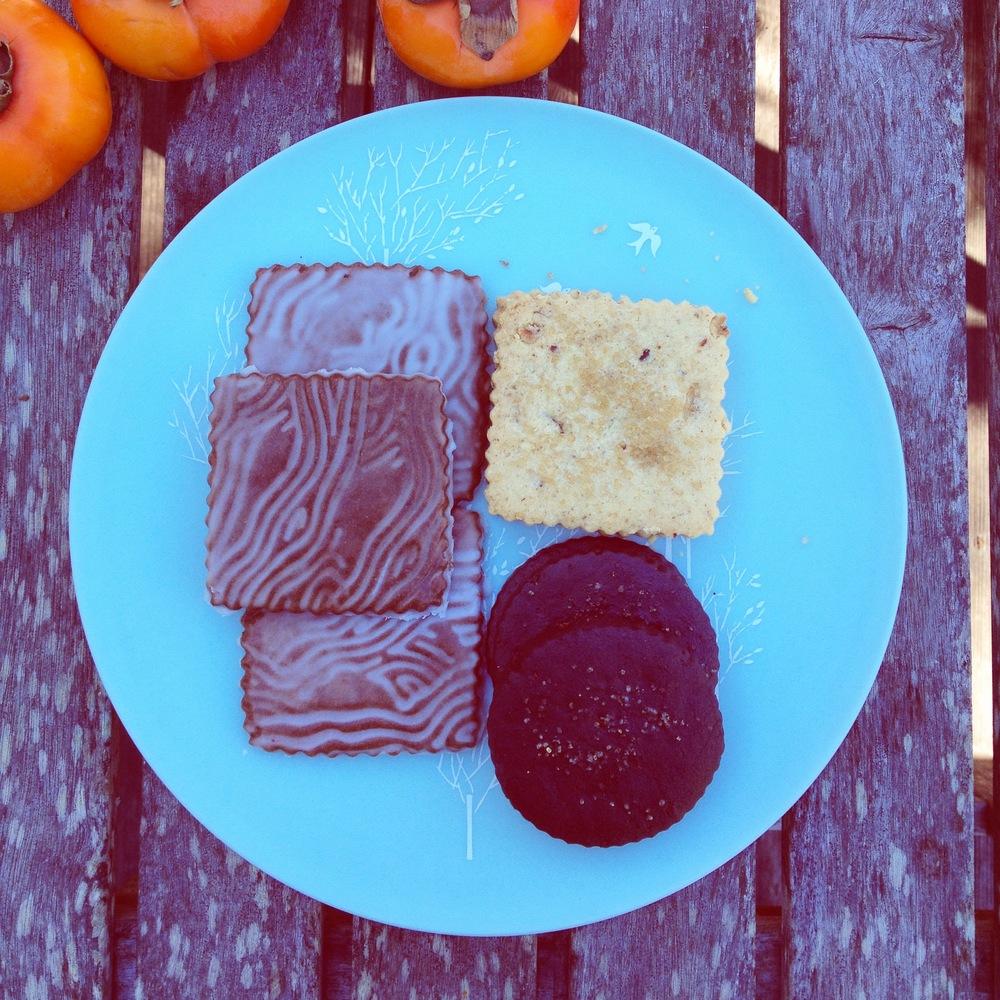 soft glazed gingerbread, brown butter hazelnut, smoky chocolate +espresso