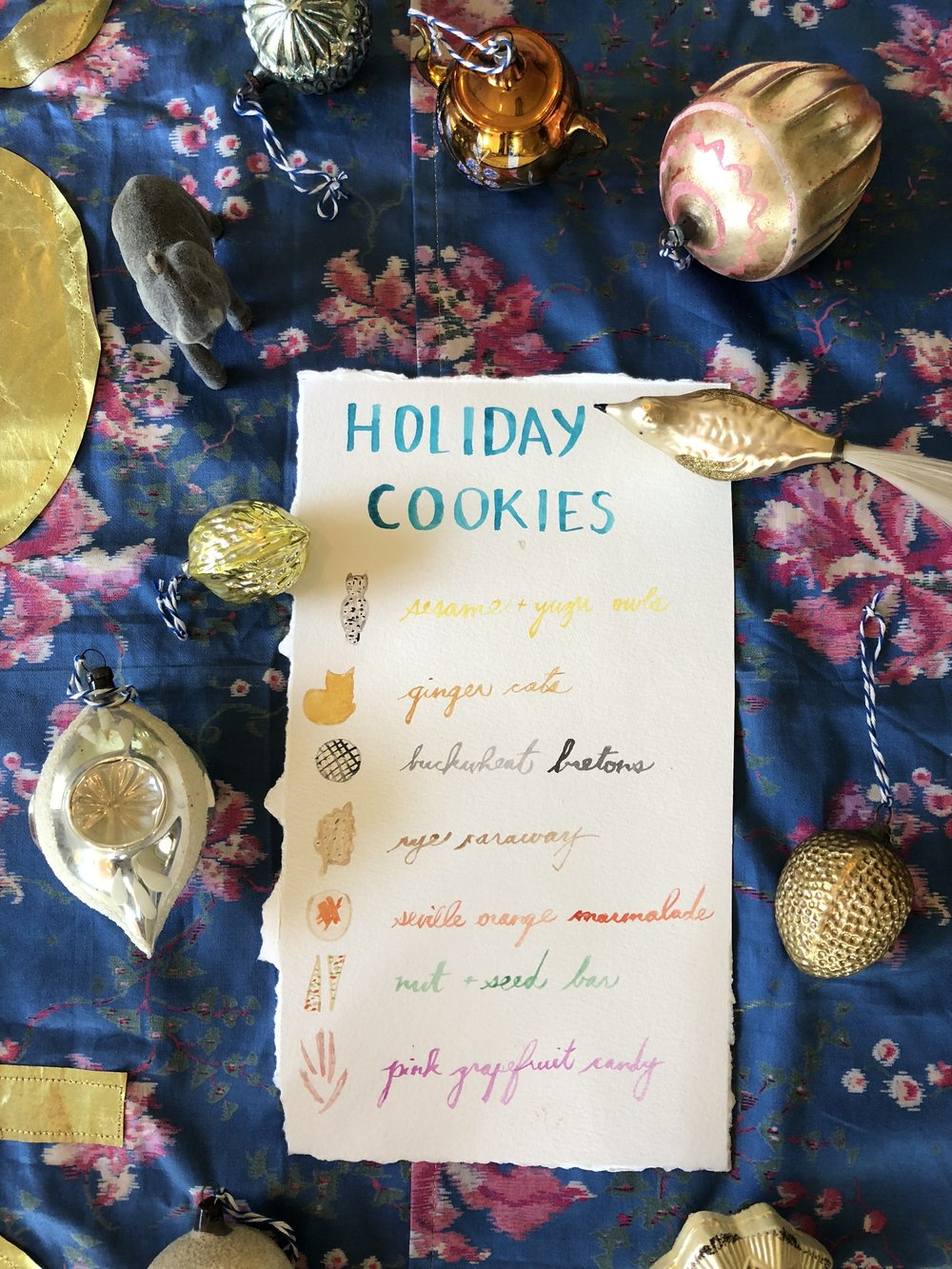 Holiday Cookie Box 2018