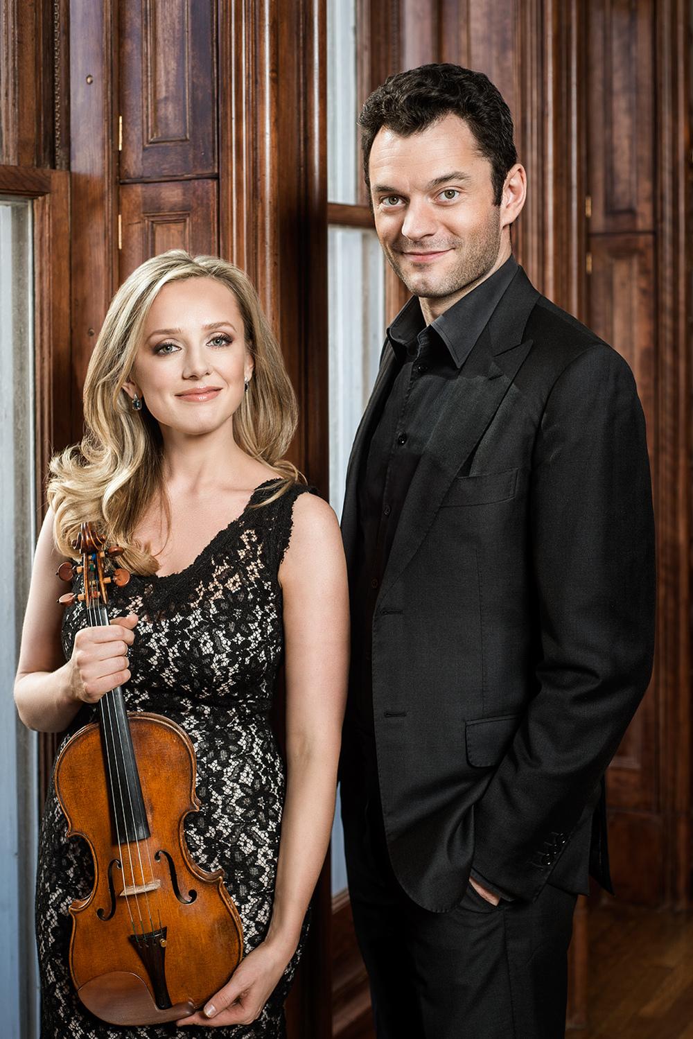 Solomiya Ivakhiv and Steven Vanhauwaert