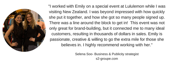 More on Selena.