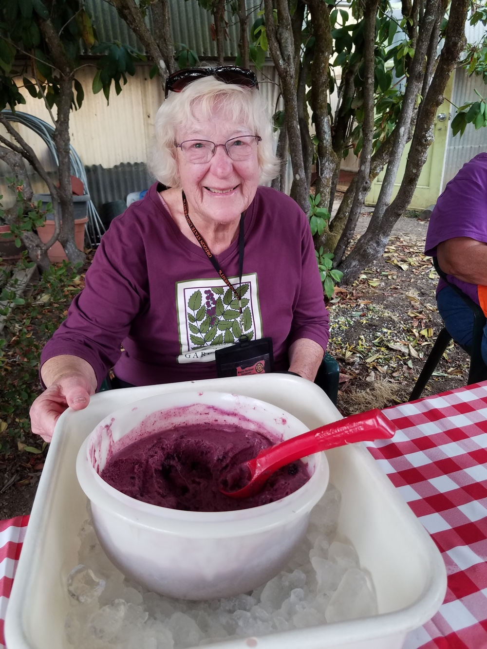 Jean and Yummy Blueberry Ice cream.1000.jpg
