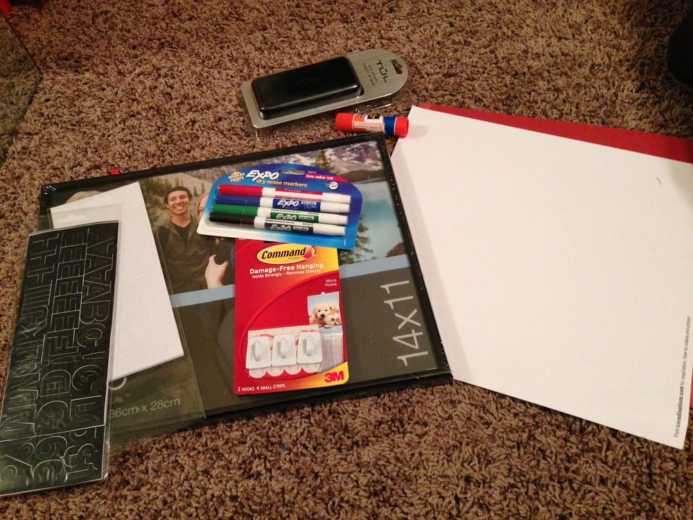 DIY Dry Erase- Nikki's Haven