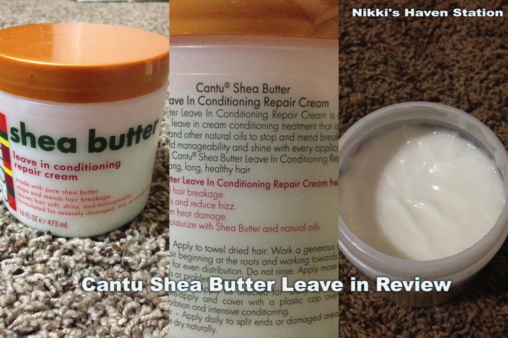 Cant shea butter review