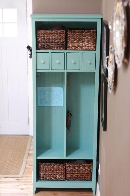entry locker diy