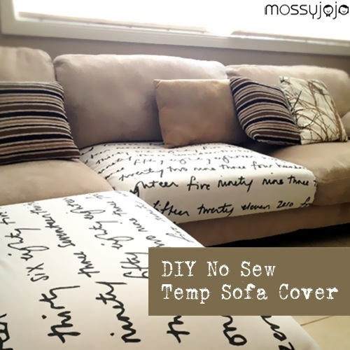 DIY Couch Seat Cover Nikkis Haven