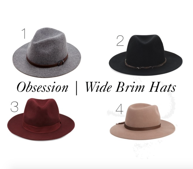 Obsession   Wide Brim Hats