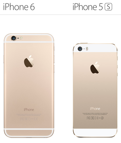 iPhone 5s vs iPhone6