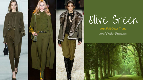2015 Olive Green Color Trend