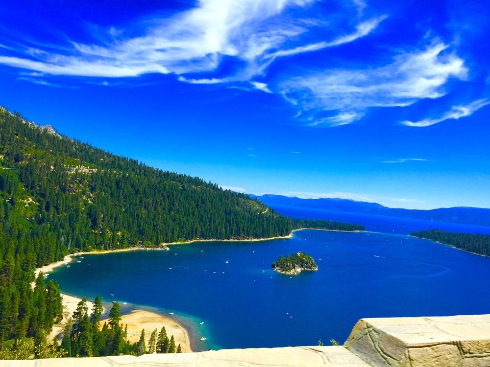 Was able to visit my favorite place! Lake Tahoe! This is one of my favorite shots. Emerald Bay!