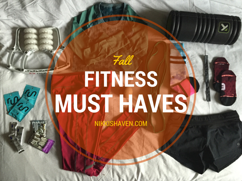 13 Fitness Must Haves For Fall | Nikki's Haven
