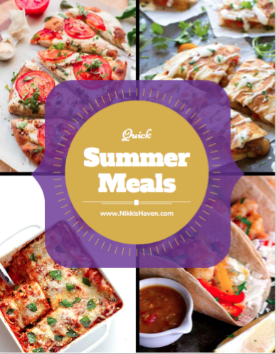 Summer Meals ebook | Nikki's Haven