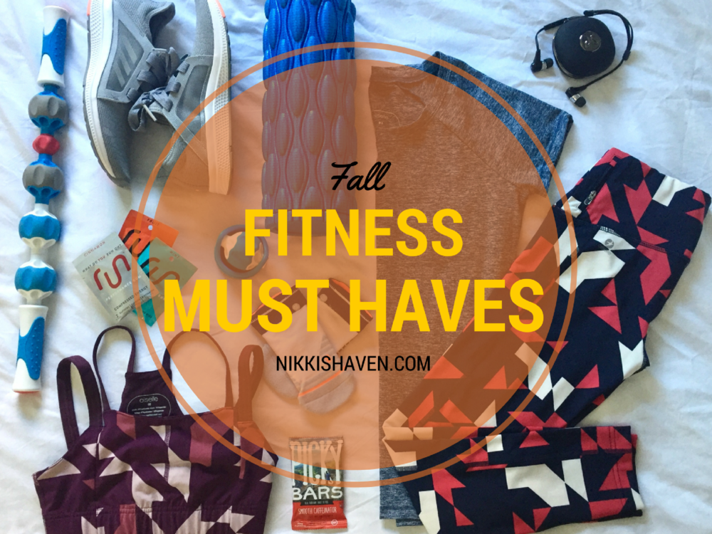 Fall Fitness Must Haves | Nikki's Haven