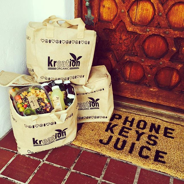 The essentials:  KEYS✔️ PHONE✔️ JUICE✔️ Checkout the custom doormat we made for @kreationjuice 🍋🍏🌶 Get yours! #regram #kreationjuice #kreationorganic #kreation #custom #doormat #welcome #manupinteriors