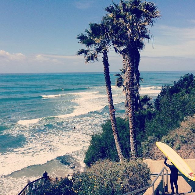 Surfs up//Mid-week cure  #humpday #cure #surfsup #surf #encinitas #sandiego #swamis #longboard