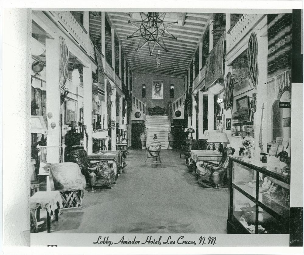 Amador Hotel Postcard, circa 1930s