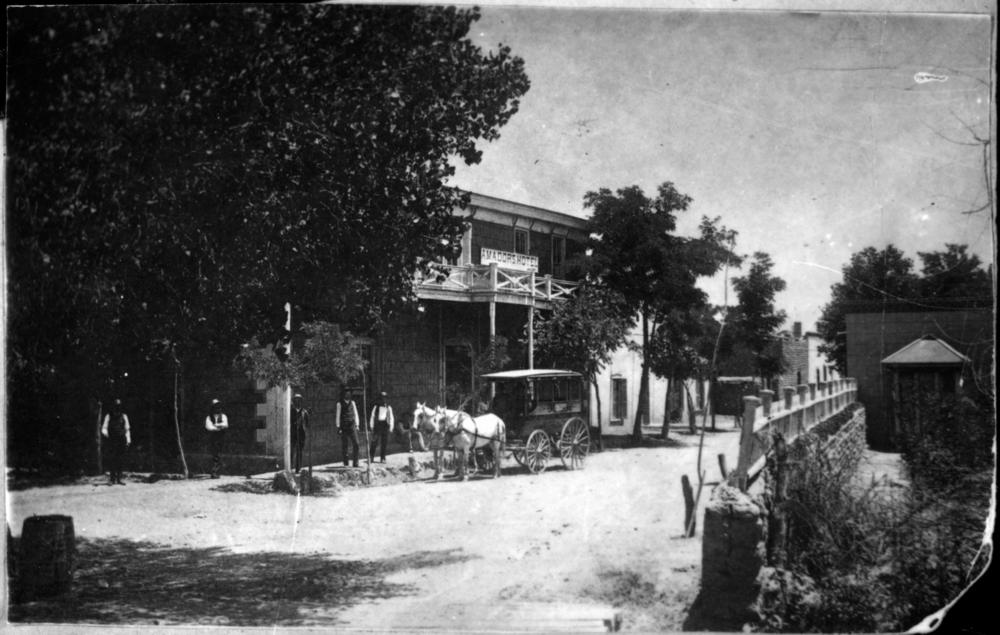 Amador Hotel circa 1890s