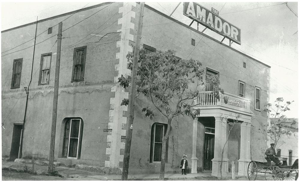 Amador Hotel, 1925