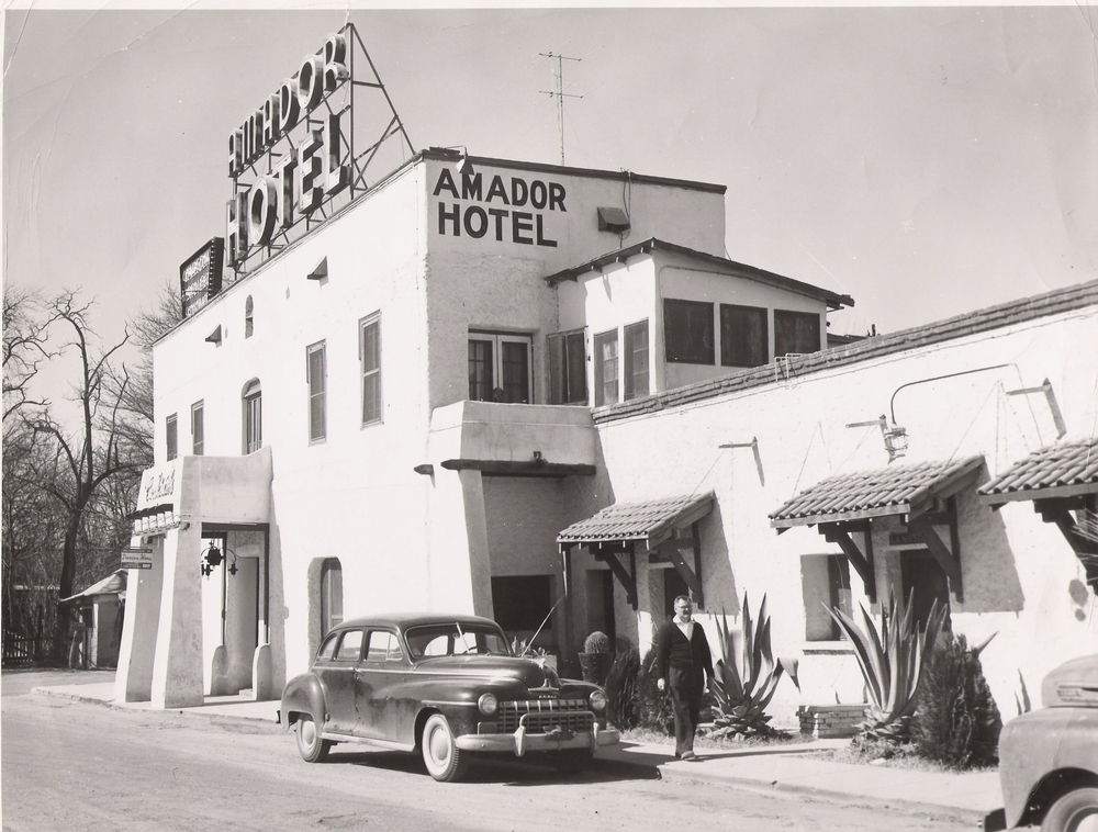 Amador Hotel, late 1940s