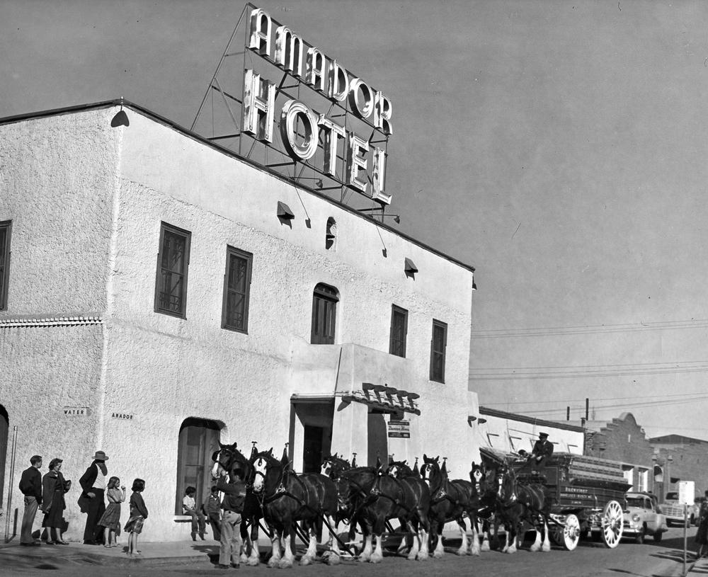 Amador Hotel, 1950