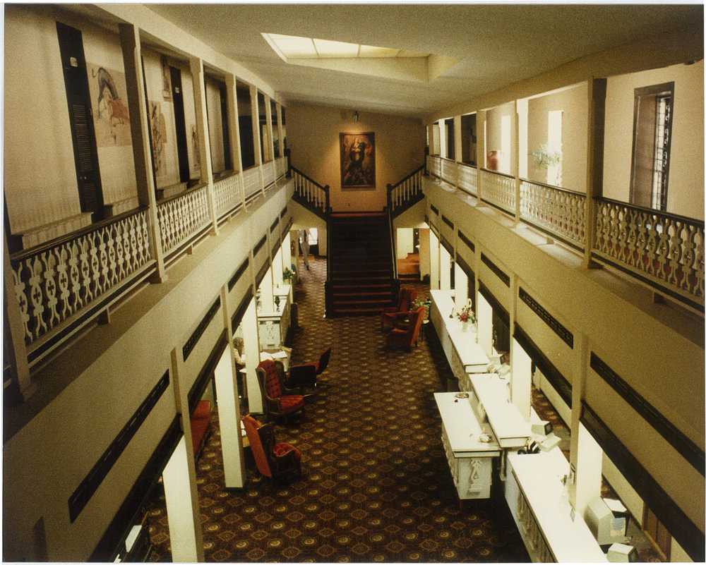 Citizens Bank Lobby, 1970s