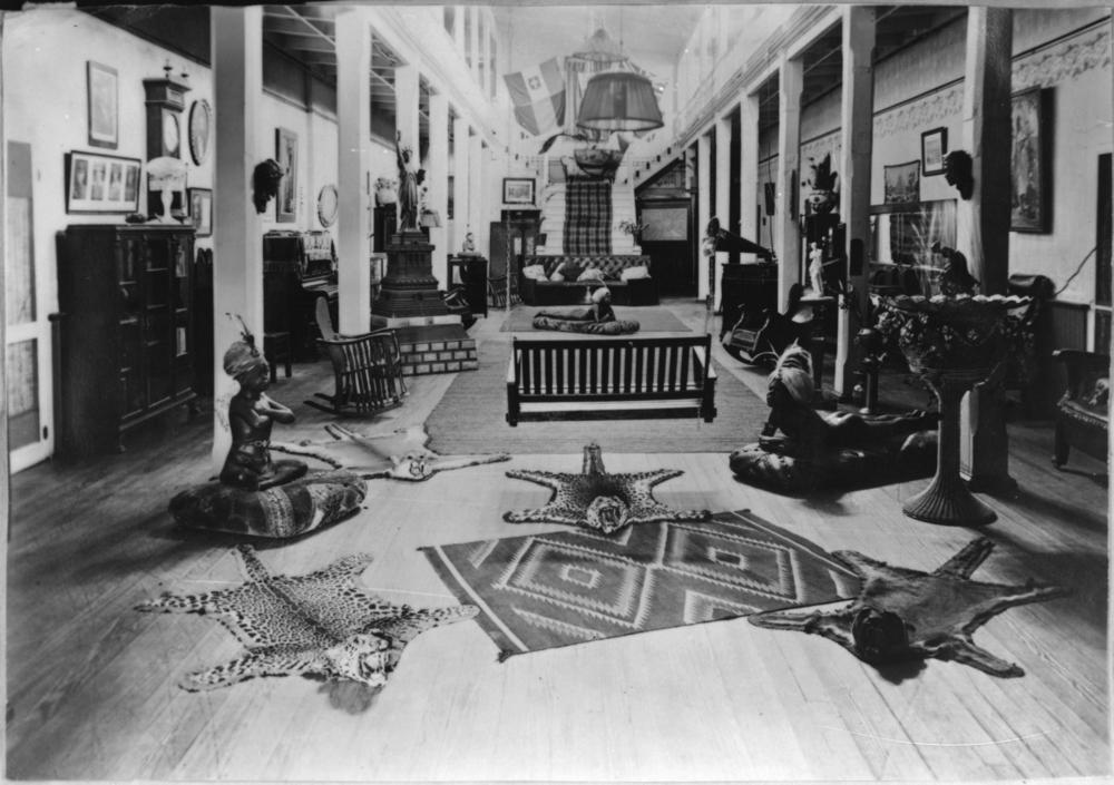 Hotel Lobby, 1910s