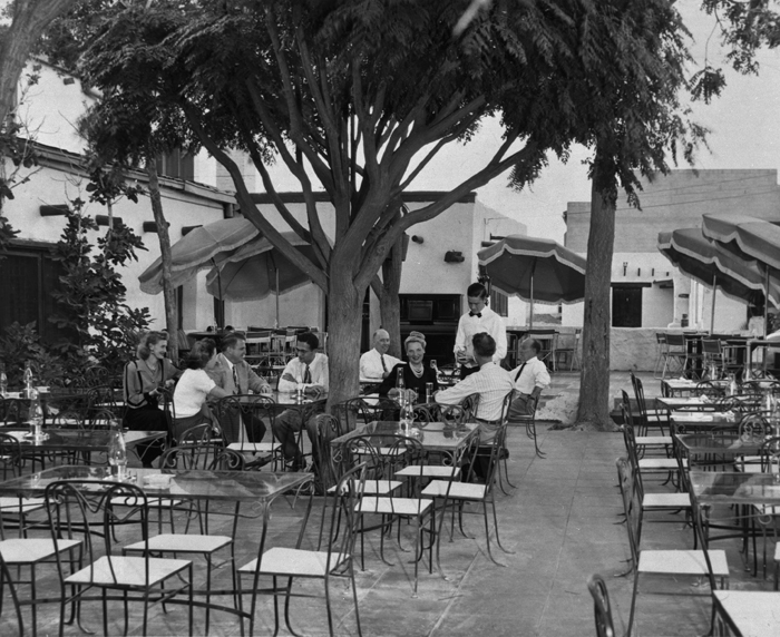Outside Patio, 1960s