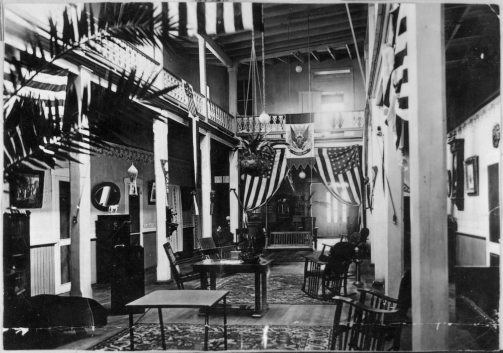 Hotel Lobby, 1916