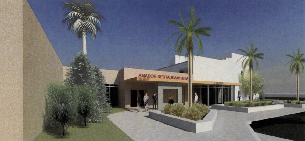 Amador Restaurant Entry